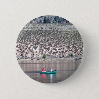 Bóton Redondo 5.08cm Canoe o rio de Similkameen dentro BC, Canadá
