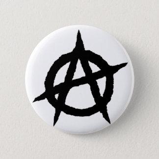 Bóton Redondo 5.08cm Caos do sinal da cultura da música do punk do