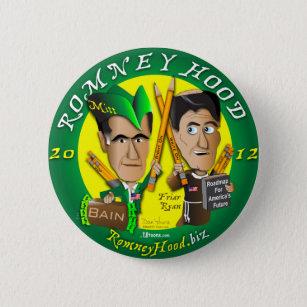 Bóton Redondo 5.08cm Capa de Romney