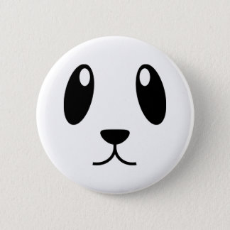 Bóton Redondo 5.08cm Cara da panda