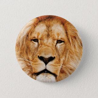 Bóton Redondo 5.08cm cara do leão yeah