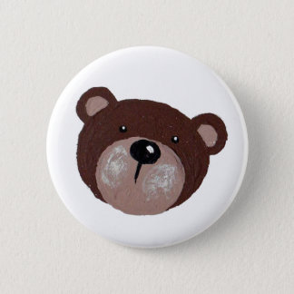 Bóton Redondo 5.08cm Cara do urso