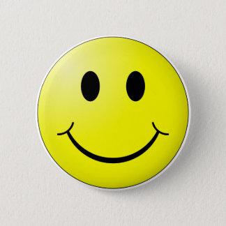 Bóton Redondo 5.08cm Cara feliz