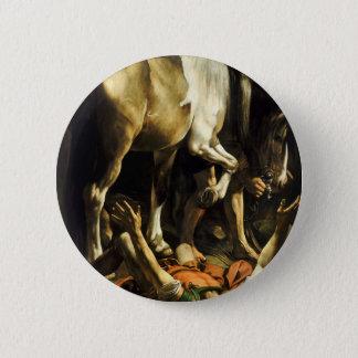 Bóton Redondo 5.08cm Caravaggio - conversão na maneira a Damasco