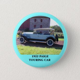 Bóton Redondo 5.08cm Carro de turismo 1922 de Paige