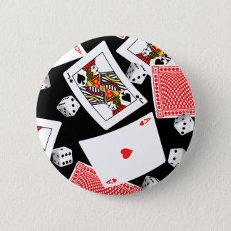 Bóton Redondo 5.08cm Cartões & dados