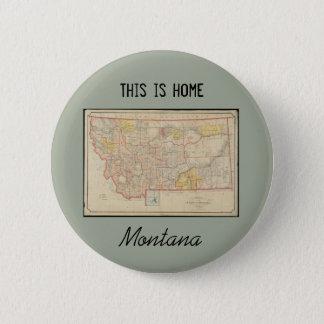 Bóton Redondo 5.08cm Casa de Montana