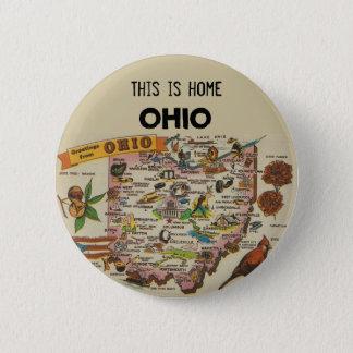 Bóton Redondo 5.08cm Casa de Ohio