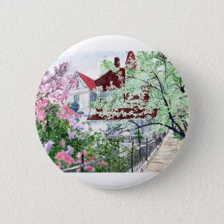 Bóton Redondo 5.08cm Casa do Victorian de Eureka Springs