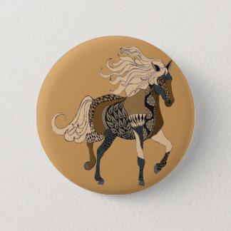 Bóton Redondo 5.08cm Cavalo
