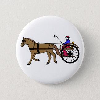 Bóton Redondo 5.08cm Cavalo e carrinho