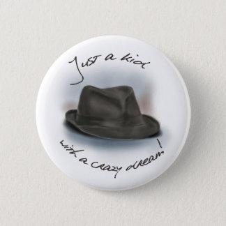 Bóton Redondo 5.08cm Chapéu para Leonard. Miúdo ideal louco