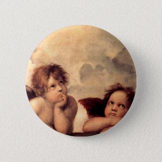 Bóton Redondo 5.08cm Cherubim - Raphael