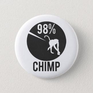 Bóton Redondo 5.08cm chimpanzé de 98%