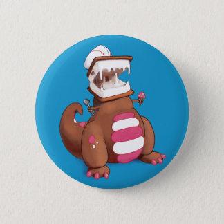 Bóton Redondo 5.08cm Chocolatey-Rex