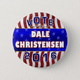 Bóton Redondo 5.08cm Christensen para o republicano 2016 do presidente