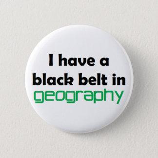 Bóton Redondo 5.08cm Cinturão negro da geografia