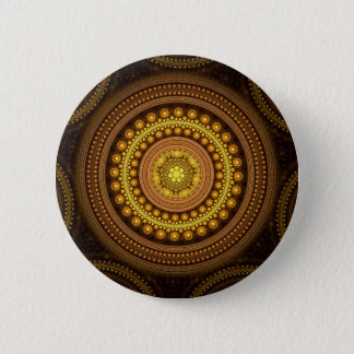 Bóton Redondo 5.08cm Círculos do Fractal