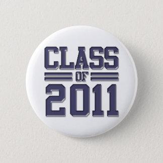 Bóton Redondo 5.08cm Classe da graduação 2011