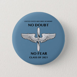 Bóton Redondo 5.08cm Classe de USAFA de botão do slogan de 2021 classes