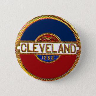 Bóton Redondo 5.08cm Cleveland - botão