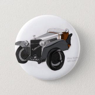 Bóton Redondo 5.08cm Close up de Hispano Suiza