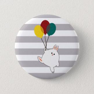 Bóton Redondo 5.08cm Coelho do balão
