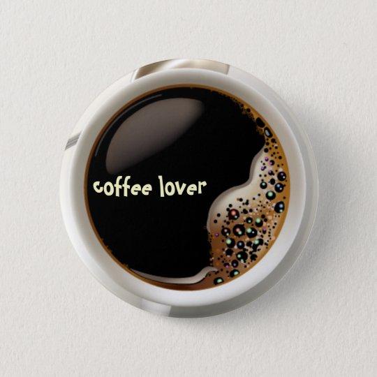 Bóton Redondo 5.08cm Coffee Lover