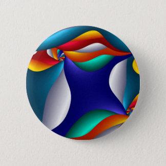 Bóton Redondo 5.08cm Cogumelo, moderno e arte contemporânea