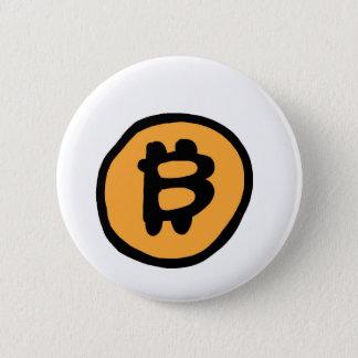Bóton Redondo 5.08cm coleção do bitcoin