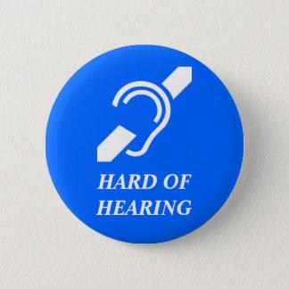 Bóton Redondo 5.08cm Com deficiência auditiva