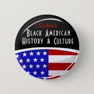 Bóton Redondo 5.08cm Comemore o emblema lustroso da história americana