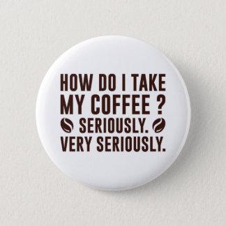 Bóton Redondo 5.08cm Como I toma meu café