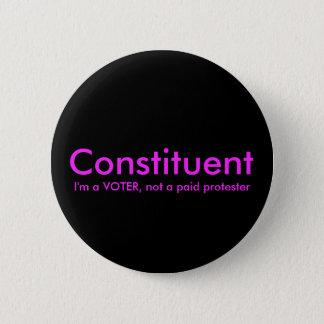 Bóton Redondo 5.08cm Componente não um botão político do protestador