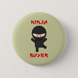 Bóton Redondo 5.08cm comprador do ninja