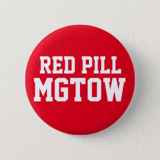 Bóton Redondo 5.08cm Comprimido vermelho MGTOW