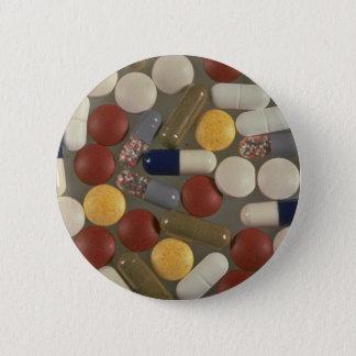 Bóton Redondo 5.08cm Comprimidos