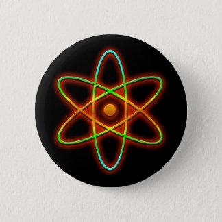 Bóton Redondo 5.08cm Conceito atômico