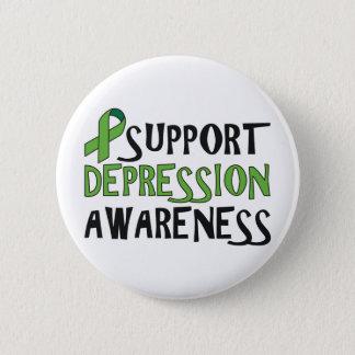 Bóton Redondo 5.08cm Consciência da depressão do apoio