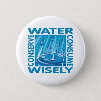 Bóton Redondo 5.08cm Conservação de água