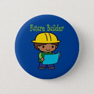Bóton Redondo 5.08cm Construtor futuro