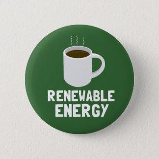 Bóton Redondo 5.08cm Copo de café da energia renovável