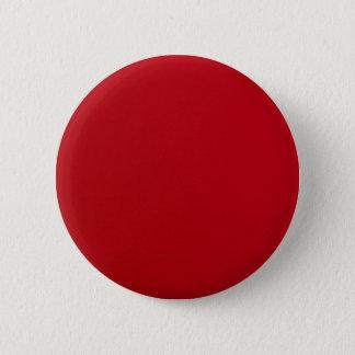 Bóton Redondo 5.08cm Cor vermelha lisa