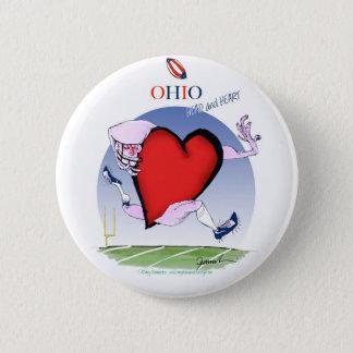 Bóton Redondo 5.08cm coração principal de ohio, fernandes tony