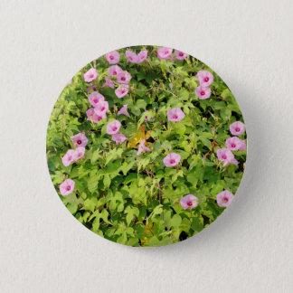 Bóton Redondo 5.08cm Corriolas cor-de-rosa Bush