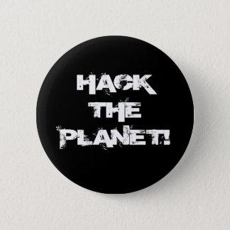 Bóton Redondo 5.08cm Corte o botão do planeta