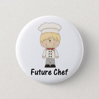 Bóton Redondo 5.08cm cozinheiro chefe futuro (menino)