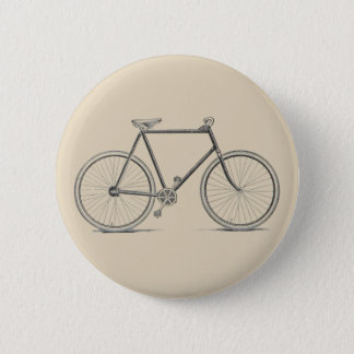 Bóton Redondo 5.08cm Crachá da bicicleta do vintage