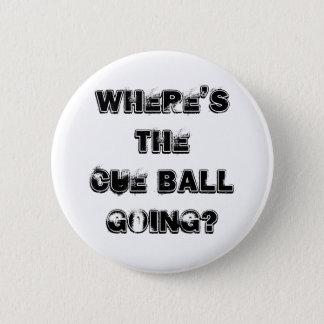 Bóton Redondo 5.08cm Crachá das citações do Snooker da bola de sugestão