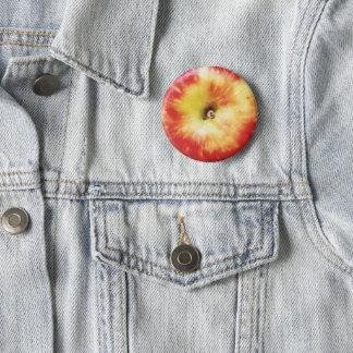 Bóton Redondo 5.08cm Crachá de Apple